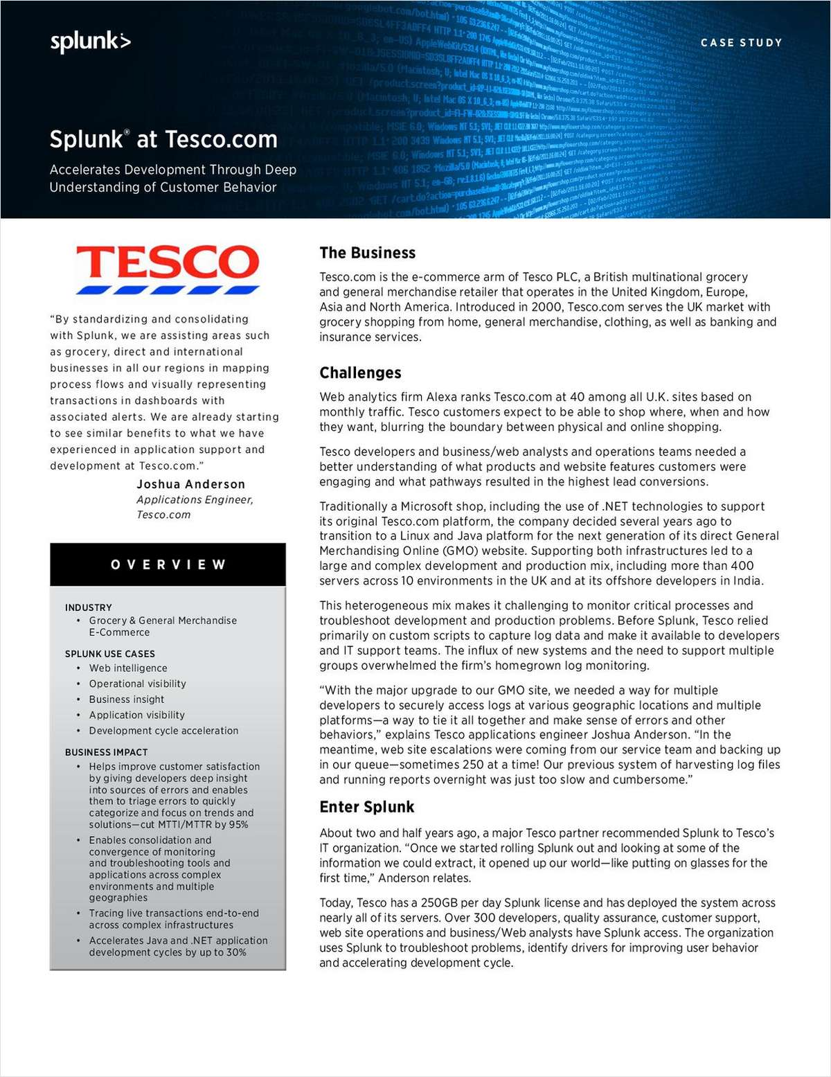 an analysis of the operational management within tesco plc Accordingly, the purpose of this report is to investigate and analysis operations management in tesco the report will mainly go through three aspects of tesco's operations management: operations management performance objectives, planning and control in use, and measurement and improvement activities.