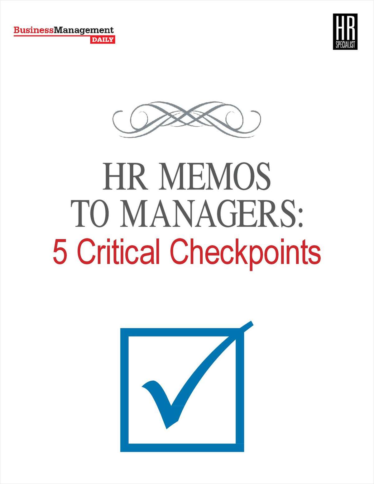 hr memos to managers  5 critical checkpoints  free