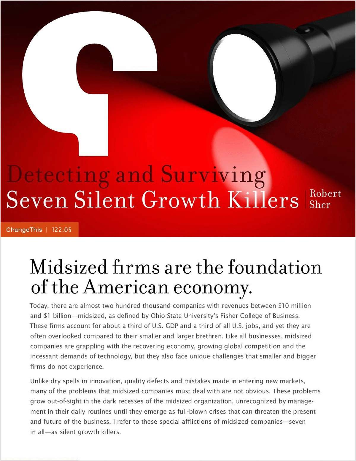 survival and growth of small firms