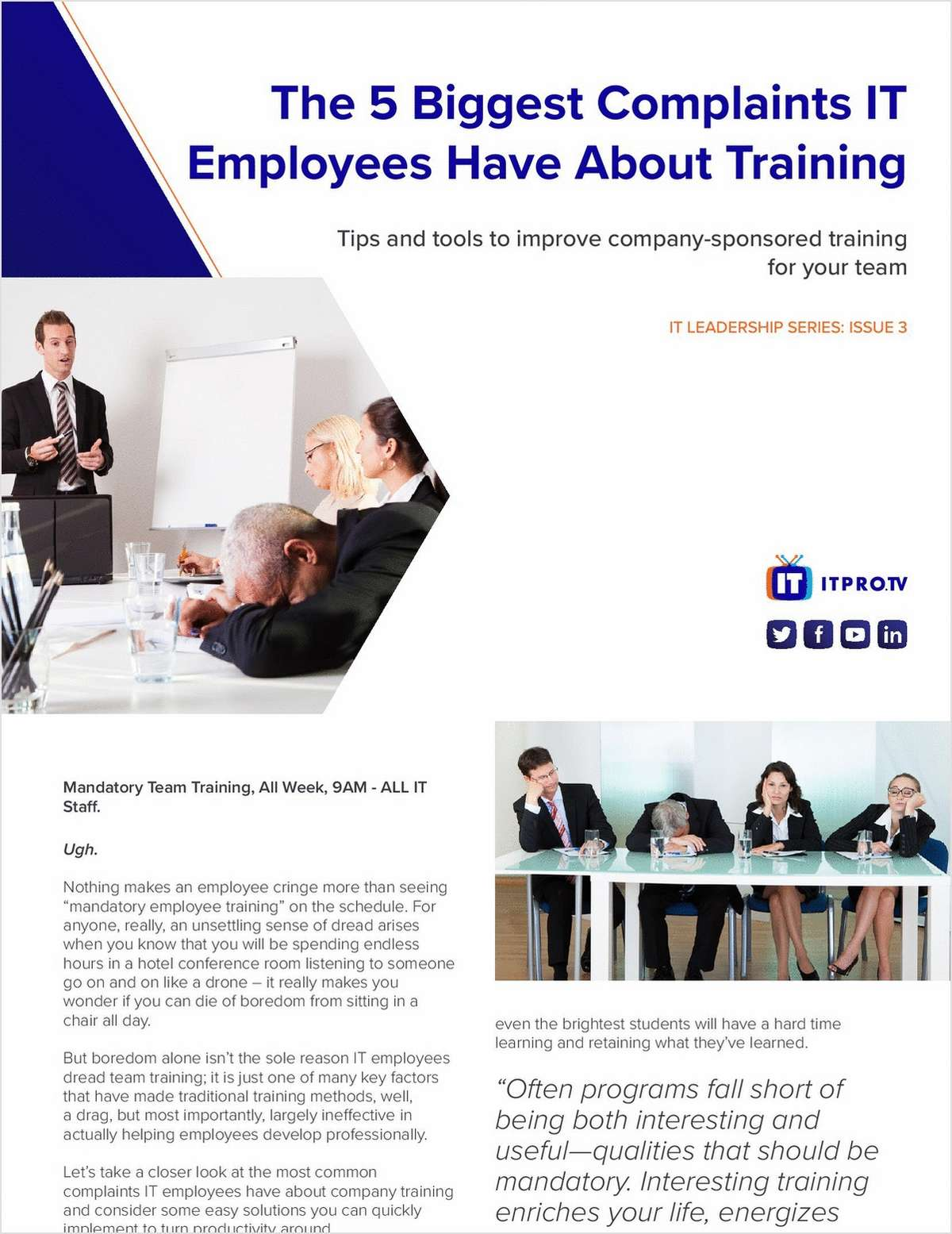will changing training methods improve staff One of the key objectives that should feature in any business and organizational plan is motivation of one's employees it goes without saying that a motivated workforce is a more creative and productive one innovation is necessary to produce quality work only driven employees would put in the effort to find better methods to deliver quality.