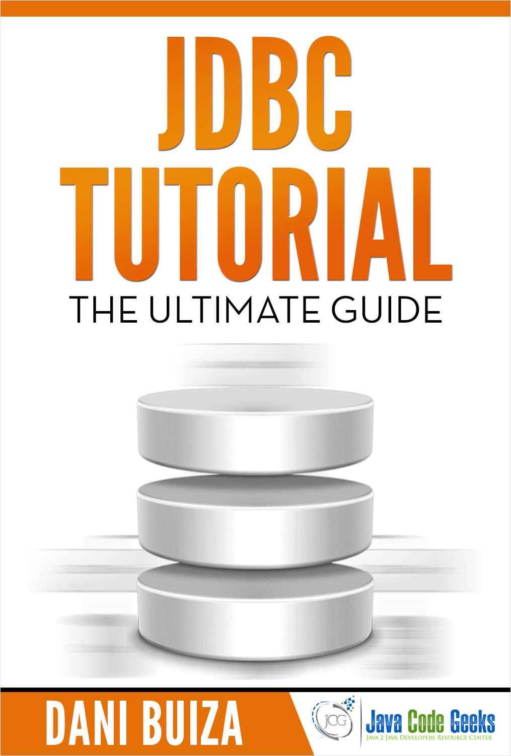 Jdbc tutorial free java code geeks guide baditri Gallery