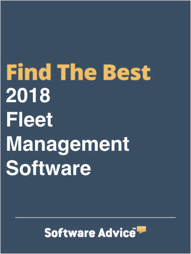 Find the Best 2018 Fleet Management Software - Get FREE